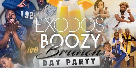 Boozy Brunch Day Party Greek Invasion tickets