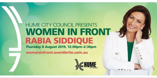 Women in Front Networking Lunch with Rabia Siddique