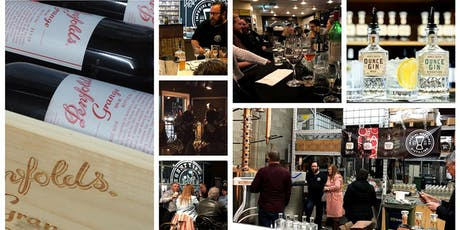 Penfold's [guess the] Grange Tasting, Gin Tasting, Tucker and a Live Band tickets