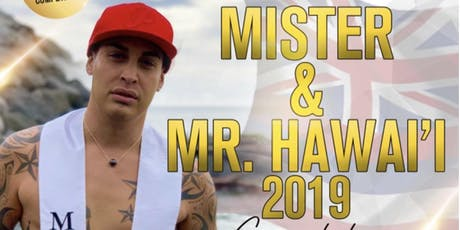 MISTER & MR HAWAI'I 2019 COMPETITION tickets