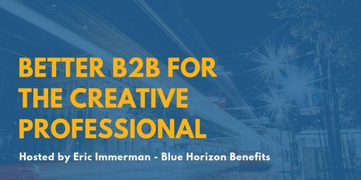 Better B2B for the Creative Professional