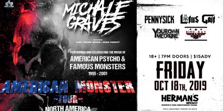 Michale Graves (Formerly Of The Misfits tickets
