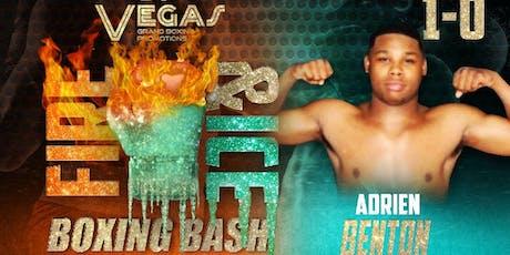 Adrien Benton Live Pro Boxing Event 7/20/19 #VGBP tickets