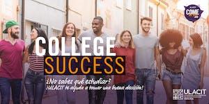 ADMISIONES: College Success: Taller de Orientación...