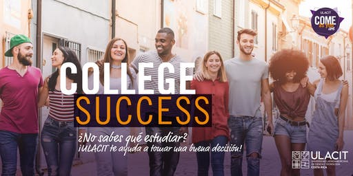 ADMISIONES: College Success: Taller de Orientación Vocacional