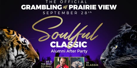 Soulful Classic - The Official Grambling Vs Prairie View Alumni After Party tickets