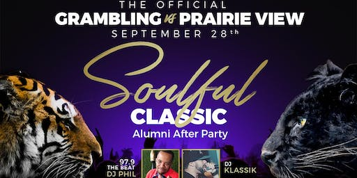 Soulful Classic - The Official Grambling Vs Prairie View Alumni After Party