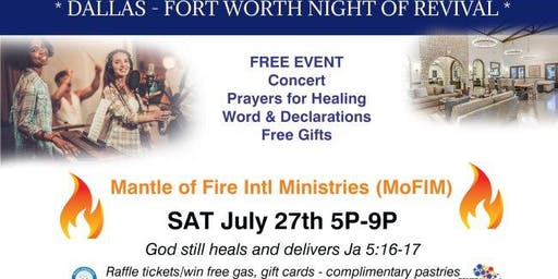 DALLAS FORT WORTH NIGHT OF REVIVAL