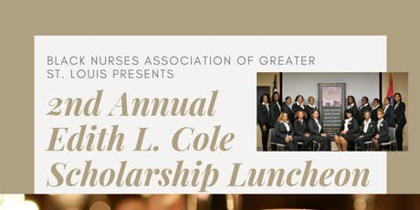 2nd Annual Edith L. Cole Scholarship Luncheon tickets