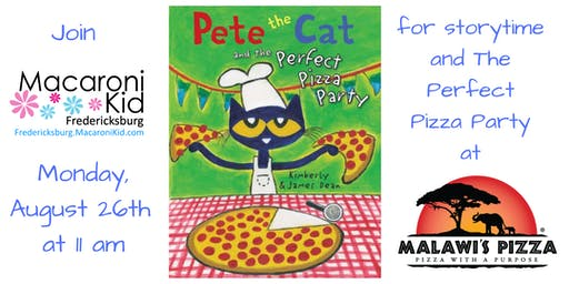 Pete the Cat's Perfect Pizza Party