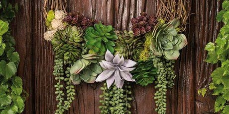 Succulent Wreath Floral Design Class tickets