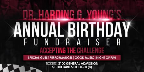 GLAMAA & Dr. Harding G. Young's Birthday Fundraiser-Accepting The Challenge tickets