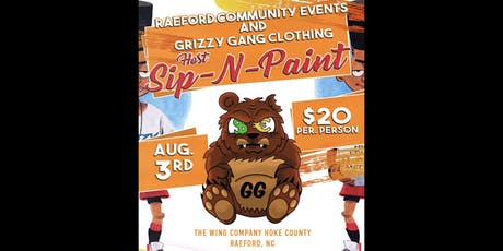 Paint and Sip !! Raeford, NC  tickets