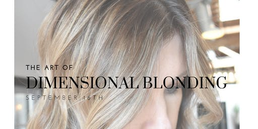 The Art of Dimensional Blonding