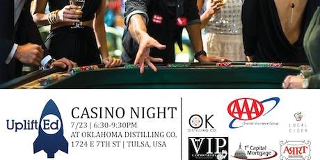 UpliftEd's Casino Night tickets