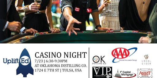 UpliftEd's Casino Night