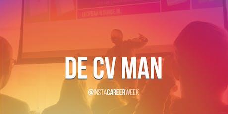 De CV Man - Tweedaagse cv cursus op Instagram (#InstaCareerweek) tickets