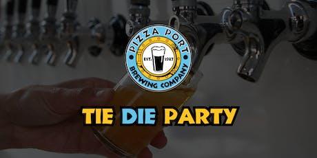 Tie Dye Shirts w/Pizza Port tickets