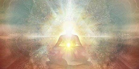 Kundalini Yoga with Siri Shakti ending with a Sacred Light Sound Bath  tickets
