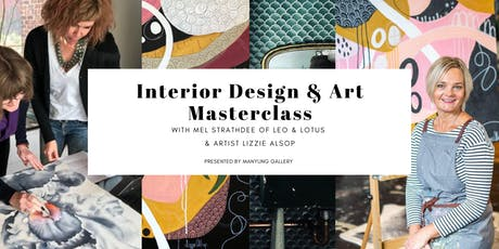 Interior Design  & Art Masterclass tickets