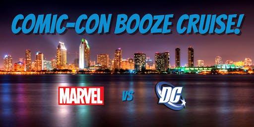 Comic-Con: Marvel vs DC Booze Cruise