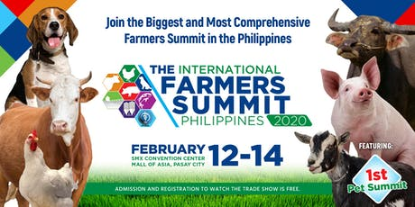 The International Farmers Summit 2020 tickets