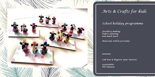 Arts and Crafts classes for kids