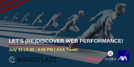 Let's (re)discover web performance! tickets