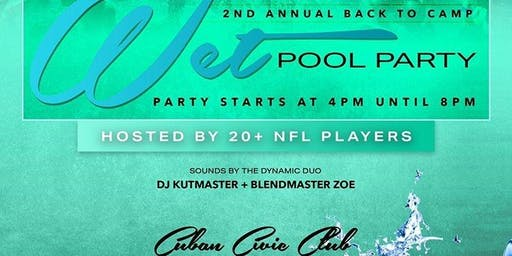 NFL Wet Pool Party