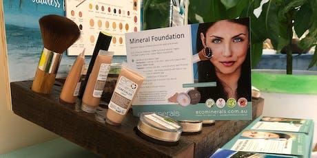 Eco Mineral Mini Make-overs.  tickets