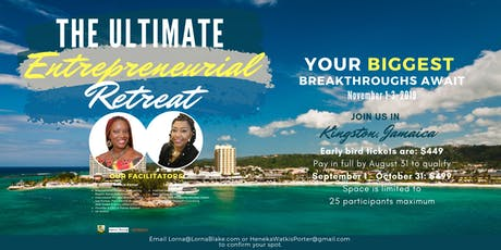 The Ultimate Entrepreneurial Retreat tickets