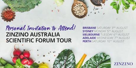 Zinzino Australia (Melbourne) Presents The Scientific Forum Dr Paul Clayton tickets