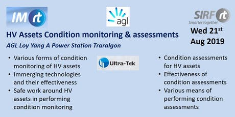 VICTAS HV Assets Condition monitoring and assessments - AGL Loy Yang A Power Station Traralgon  tickets