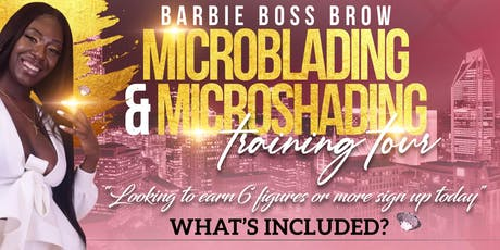 Microblading Training Course -$599 tickets