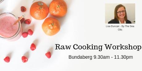 Raw Cooking Workshop - Bundaberg tickets