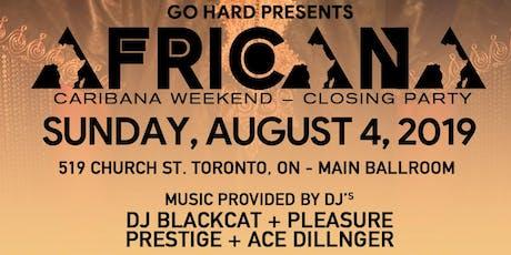 "GO HARD ""AFRICANA"" Afrobeats/Soca Explosion! tickets"