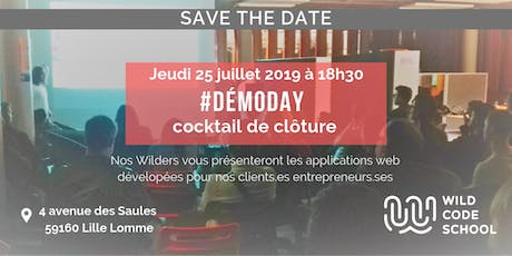 Demo Day & cocktail de clôture promo #02|2019 : j'y vais ! billets