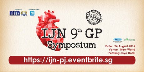 IJN 9TH GP SYMPOSIUM tickets