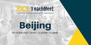 21CLTeachMeet Beijing - 26 February 2020