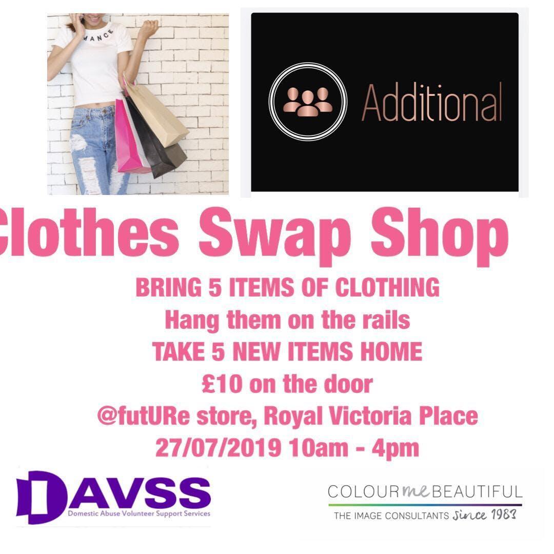 Royal Tunbridge Wells : Charity Clothes Swap Shop