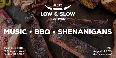 Jack's Low & Slow Festival: Music, BBQ, and Shenanigans tickets