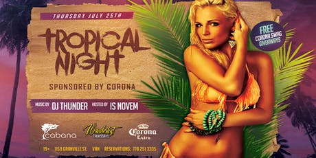 Tropical Night tickets