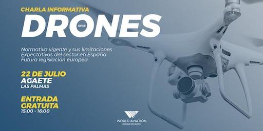 Charla Informativa | Drones Las Palmas