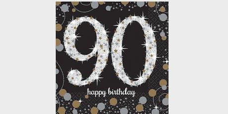 Hoover Kizart's Diamond 90th Birthday tickets