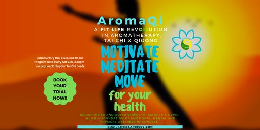 AromaQi - Motivate Meditate Move
