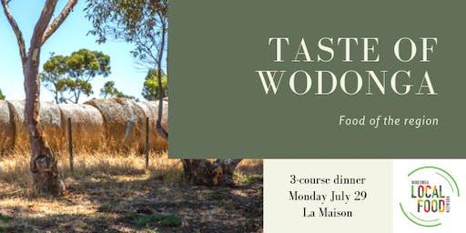 Taste of Wodonga - a regional food culinary experience