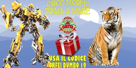 Il circo M.Orfei a Praia A Mare biglietti