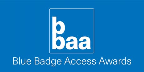Blue Badge Access Awards tickets