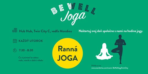 Be Well Joga Twin City- August