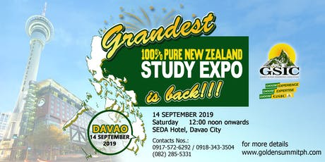 Grandest New Zealand Study Expo tickets